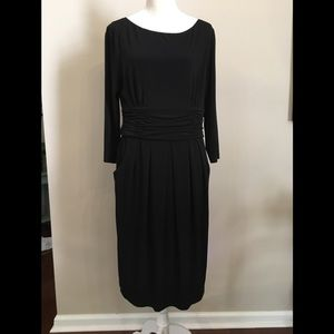 Black Jessica Howard Dress Size 14